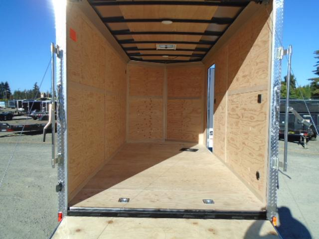 2021 Cargo Mate E-series 7x14 7K Wedge w/12+ Extra Height/UTV Premium Package