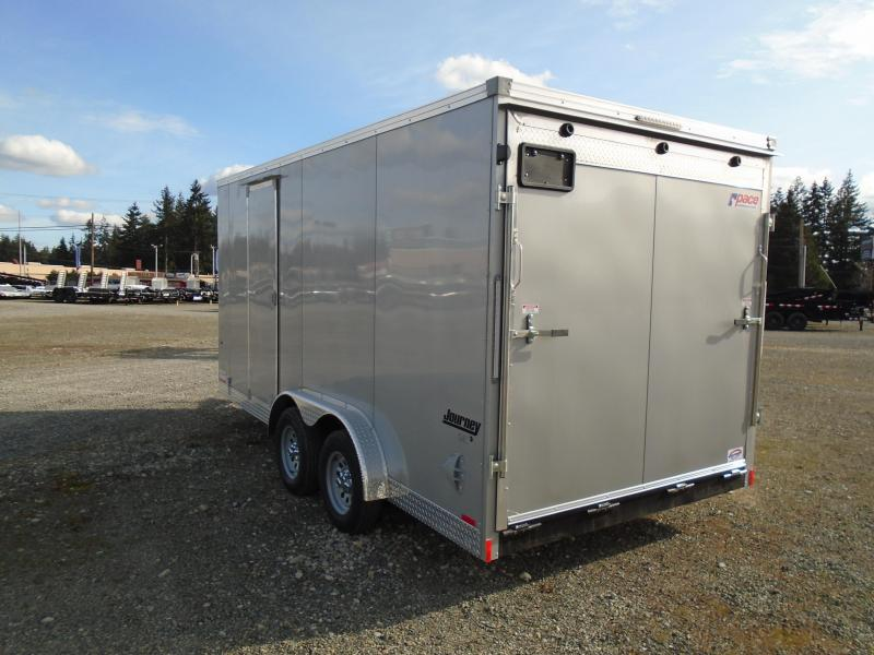 """2022 Pace American 7.5x16 7K With 12"""" Extra Height / Ramp Door"""