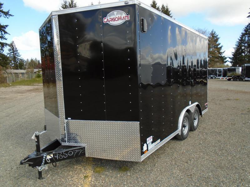 "2022 Cargo Mate E-Series 8.5X14 7K With 6"" Extra Height / Ramp Door"