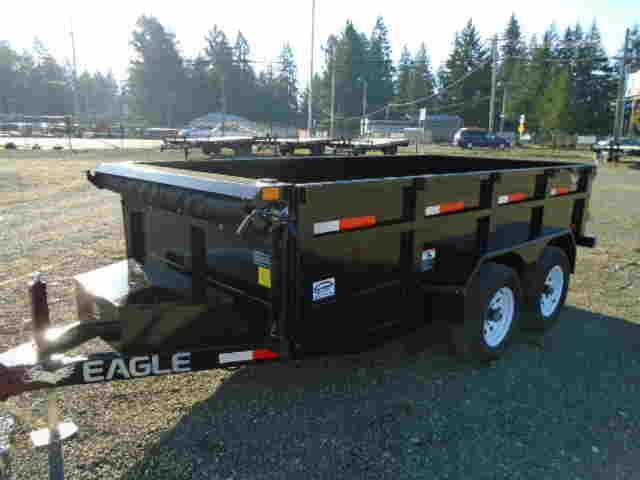 2020 Eagle Trailer 6x12 Dump Trailer w/Tarp Kit/Ramps/D-Rings