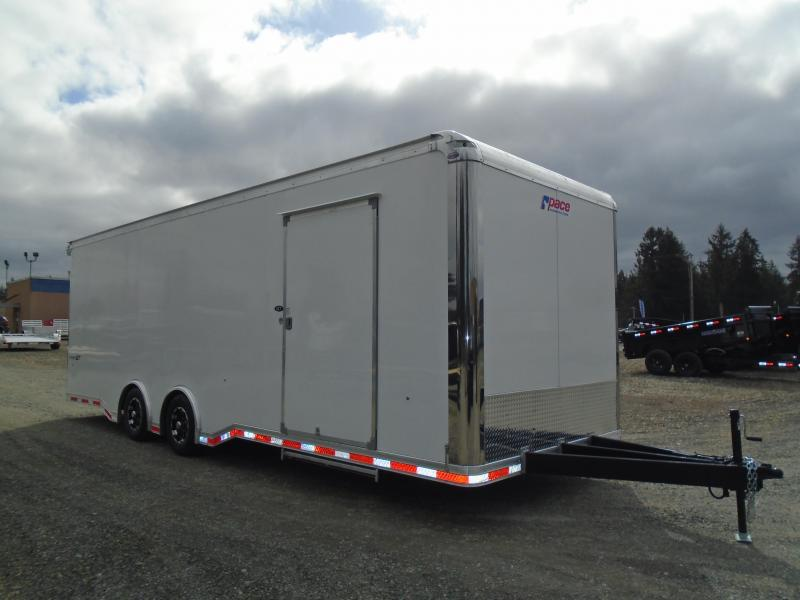 """2022 Pace American Shadow GT 8.5X26 With 6"""" Extra Height / Ramp Door"""