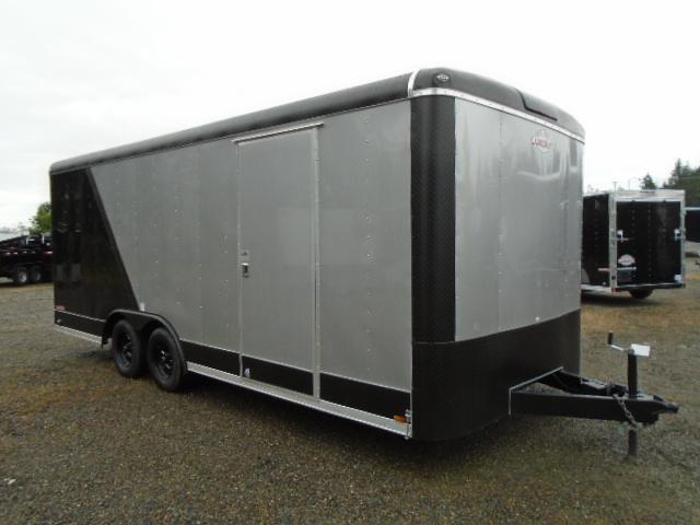 2021 Cargo Mate Blazer 8.5x20 7K  w/Extra Height/Matte Black Package/Wheel Upgrade