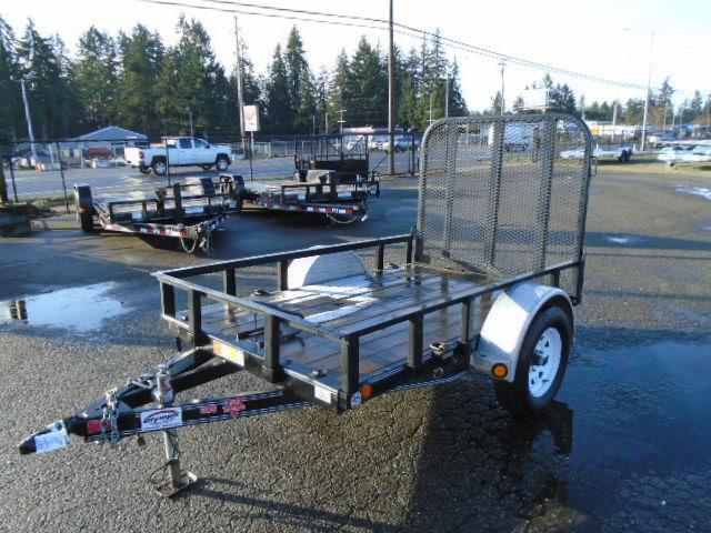 USED 2021 PJ Trailer 5x8 w/Fold up Gate