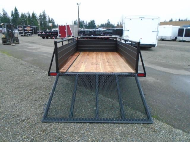 2021 Eagle Ultra Classic 6x12 with Swing Jack Utility Trailer