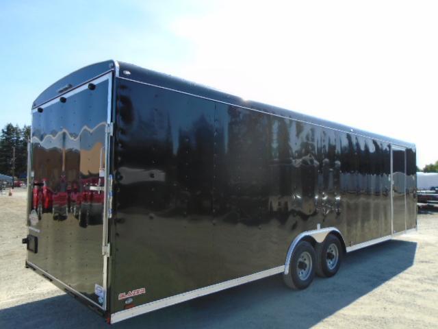 """2021 Cargo Mate Blazer 8.5x28 10K With 6"""" Extra Height / D-Rings / Ramp Door"""