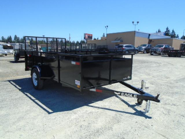 2021 Eagle Falcon 6x12 Utility Trailer with Swing Jack/D-rings