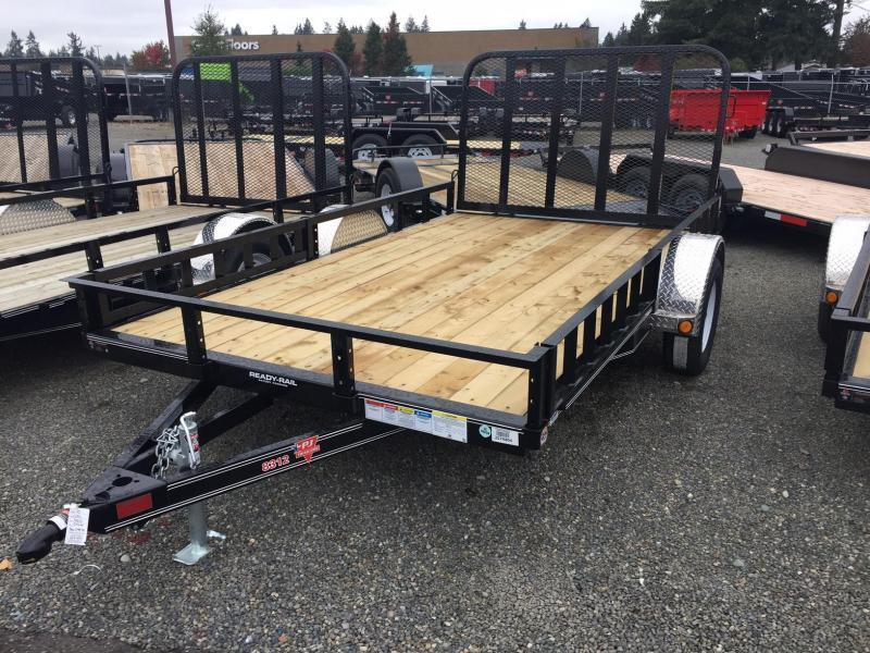 2021 PJ Trailers 6.5X12 with Side Mount ATV Ramps Utility Trailer