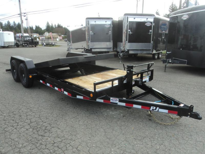 2021 PJ T620 7x20 14K  w/Winch Plate and Roller