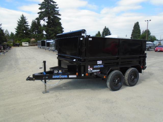 2021 Load Trail 6x10 7K Dump w/Tarp kit and Side Kit