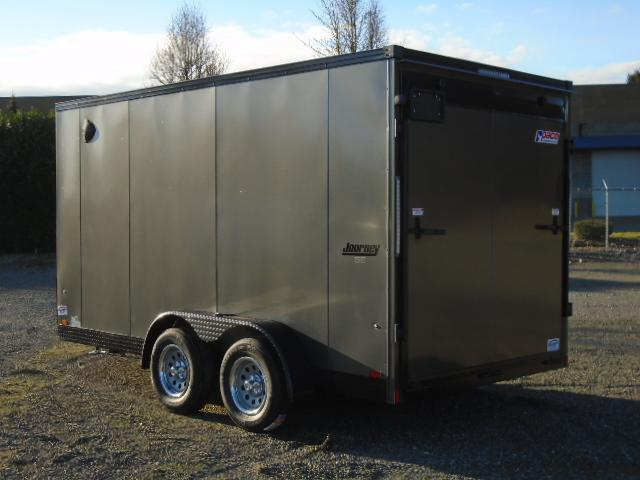 """2022 Pace American Journey SE 7x14 7K With 12"""" Extra Height / Ramp Doors"""