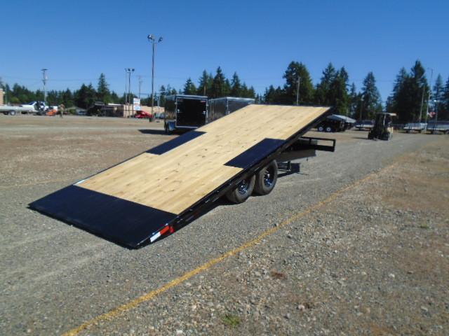 2022 PJ Trailers 8.5x22 14K Deckover Power Tilt With Spare Tire & Mount