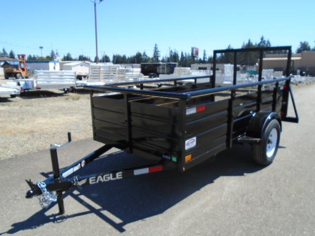 2021 Eagle Ultra Classic 5x10 with Swing Jack Utility Trailer