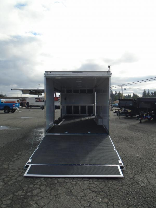 """2022 Pace American Shadow GT 8.5X26 With 12"""" Extra Height / Ramp Door"""
