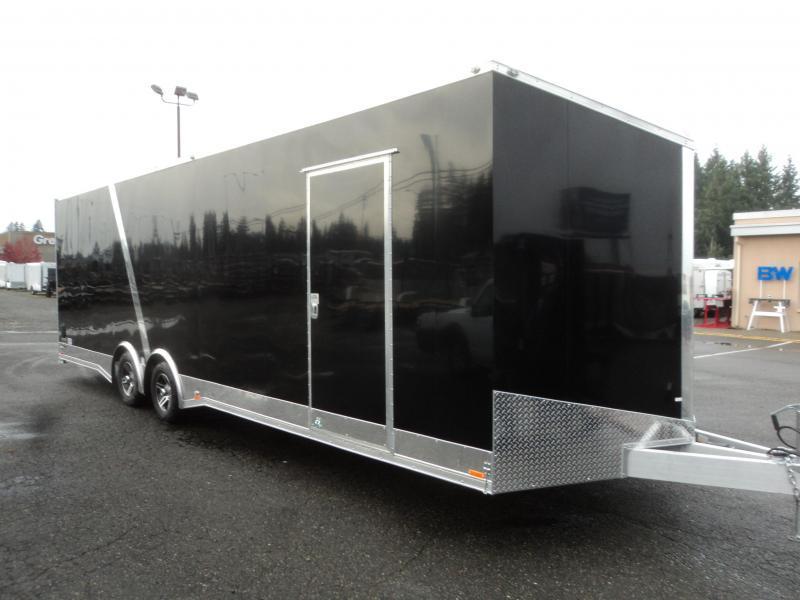 2021 Cargo Mate Aluminum Redline 8.5x28 10K Enclosed Trailer