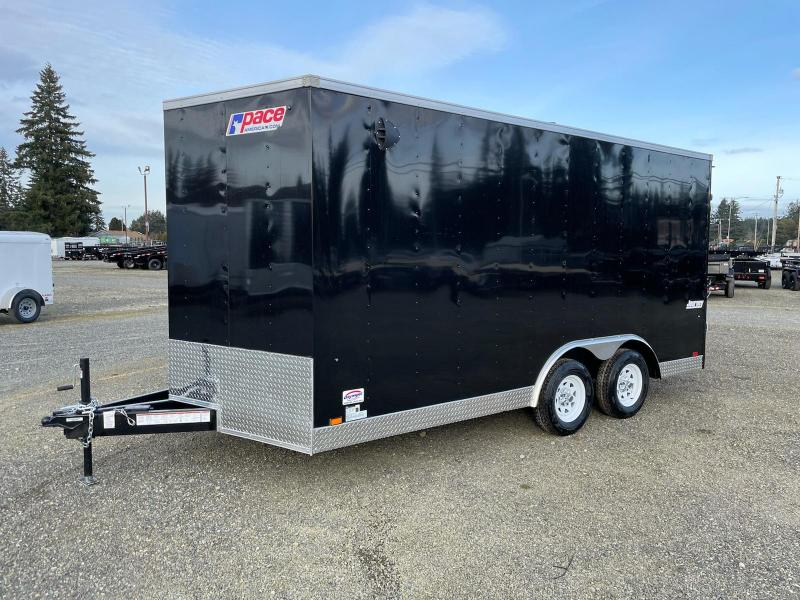 "2022 Pace American Journey Auto 8.5X16 W/6"" Extra Height/Ramp"