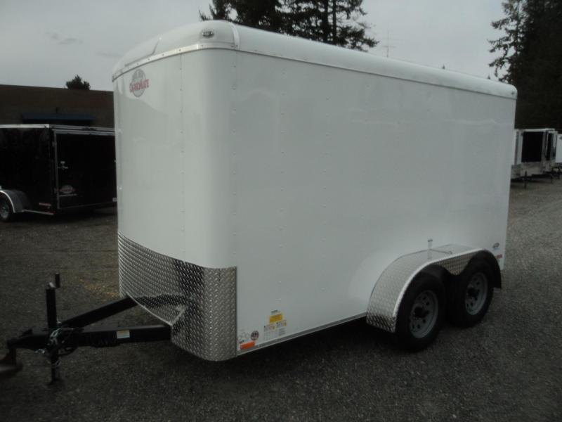 2021 Cargo Mate Blazer 7X12 7K w/Ramp Door