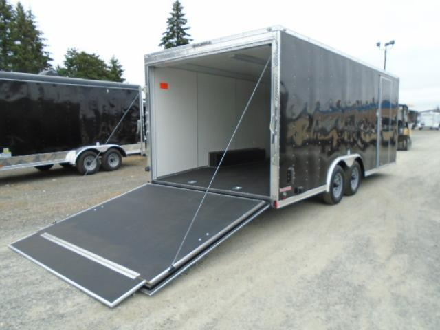 2021 Cargo Mate E-Series 8.5x20 7K With Finished Interior / Wedge / 110v Pkg / Ramp Door