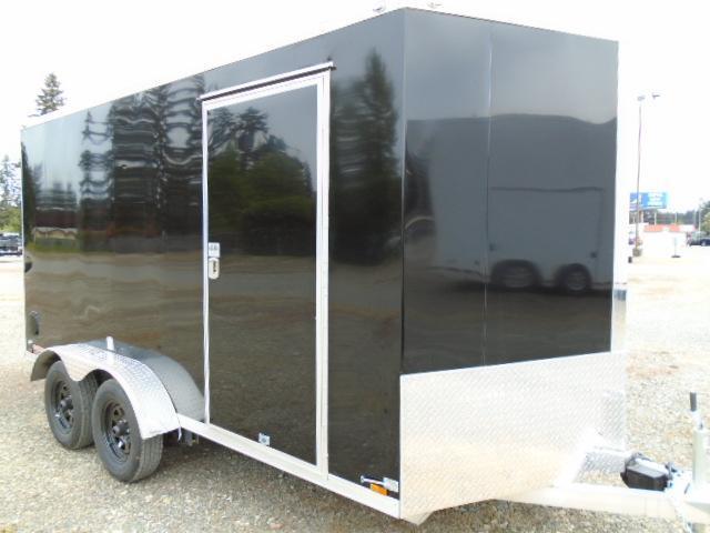 2021 Cargo Mate Aluminum 7x14 7K w/Extra Height/Ramp+