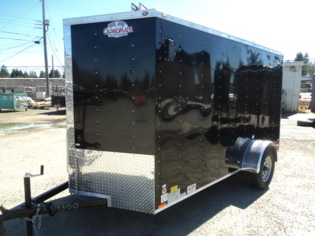 2021 Cargo Mate E-series 6X12 Cargo Trailer With Ramp