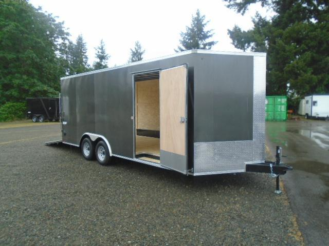 """2022 Pace American Journey Auto 8.5X20 With 6"""" Extra Height / Ramp Door"""