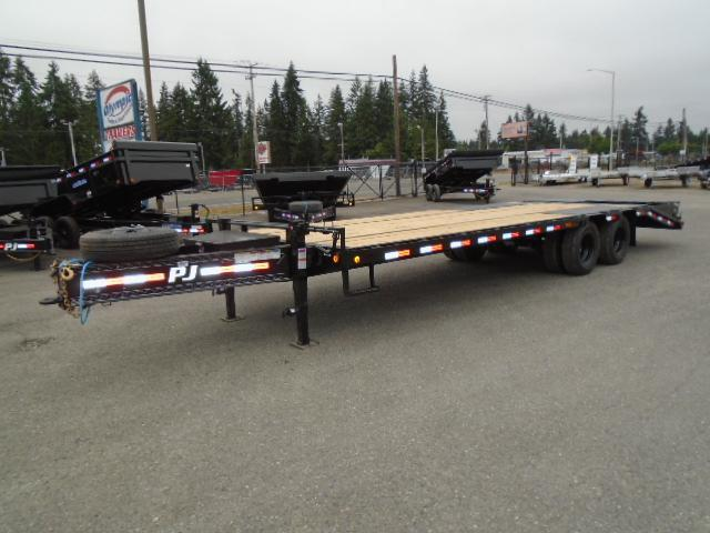 """2022 PJ Trailers 102"""" x 26' Low-Pro Pintle With Duals (PL) Flatbed Trailer"""