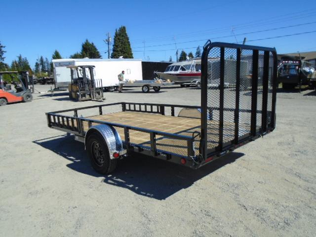 2021 PJ Trailers 7X14 with Side Mount ATV Ramps/Electric brake Utility Trailer