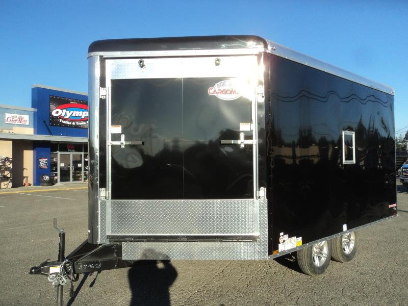 2020 Cargo Mate Snowbird 8.5x16 7K Snowmobile Enclosed Trailer
