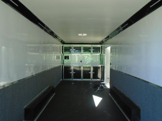"2021 Cargo Mate 8.5X24 10K Race Trailer with Finished Interior/12""+ Extra Height"