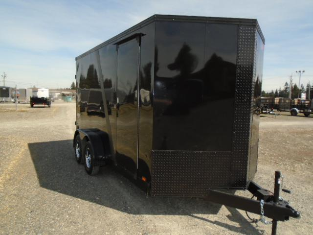 "2022 Pace American Journey SE 7x14 7K With 12"" Extra Height / Screwless Exterior / Ramp Door"