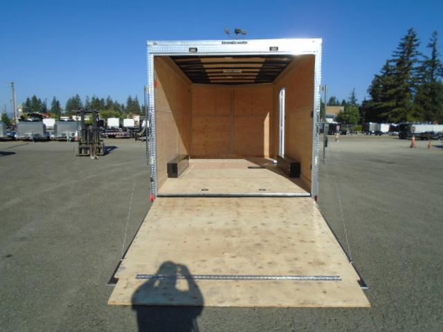 "2021 Cargo Mate E-Series 8.5x16 7K With 6"" Extra Height / Wedge / UTV Pkg / Reinforced Ramp Door"