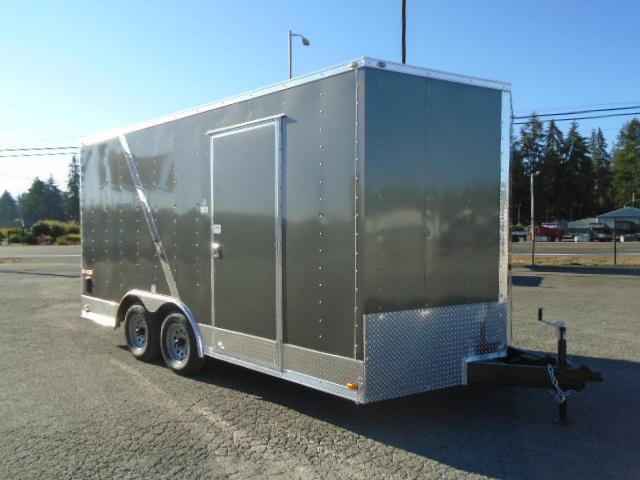 2021 Cargo Mate E-Series 8.5x16 7K w/Extra Height/UTV Package