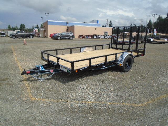 2021 PJ Trailers 7X14 with Electric Brake Utility Trailer