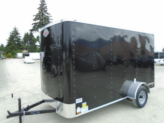 "2021 Cargo Mate Challenger 6x12 w/6"" Extra Height & Rear Ramp Door Enclosed Cargo Trailer"