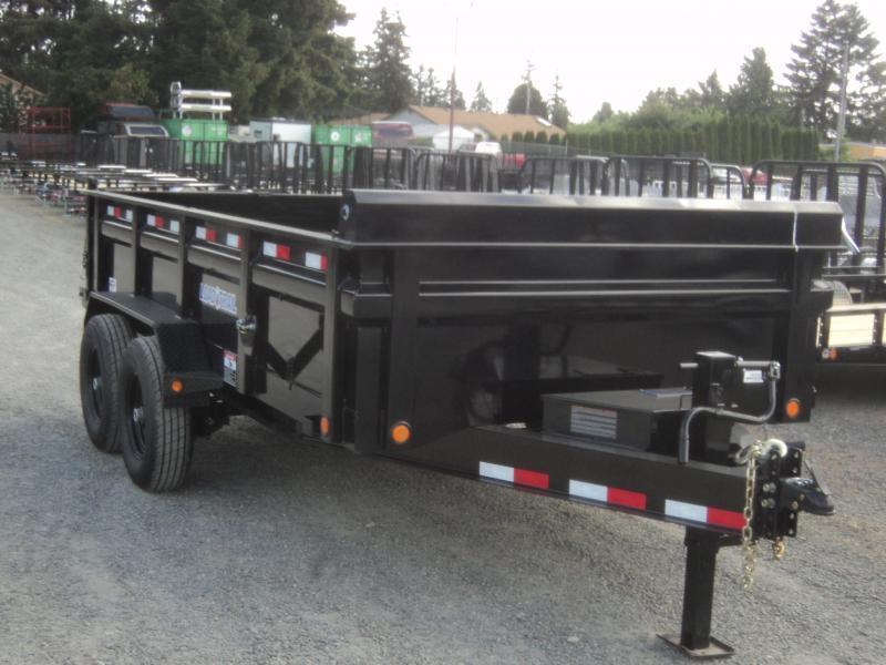 2021 Load Trail 7X12 14K w/Tarp Kit/Rapid Charger/Max Step