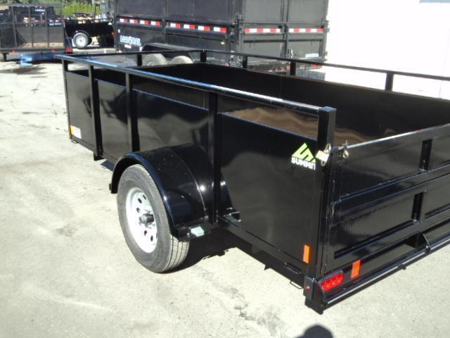 2021 Summit Alpine 6X10 Single Axle W/Split Ramp Utility Trailer