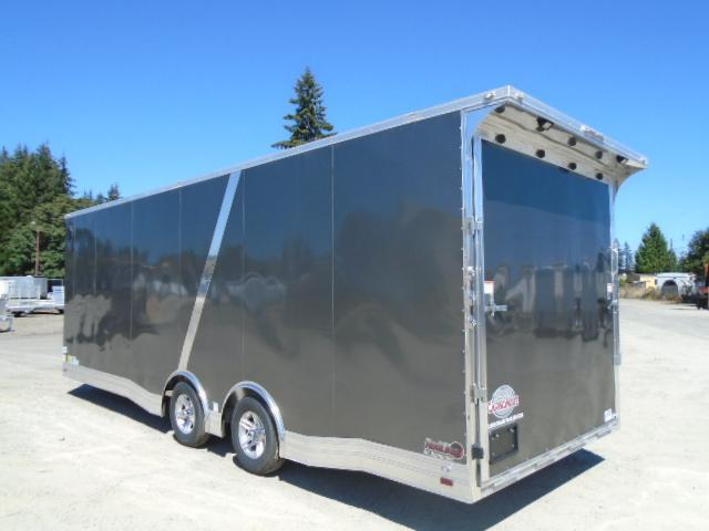 2021 Cargo Mate Aluminum Redline 8.5x24 10K Enclosed Trailer