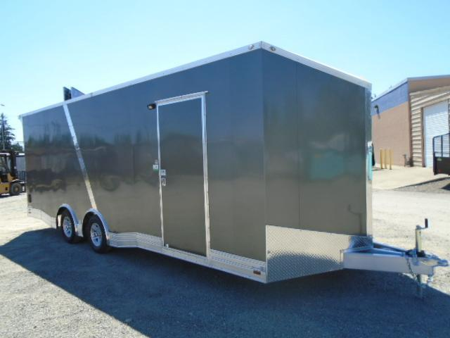 2021 Cargo Mate Aluminum Redline 8.5x24 10K Enclosed Trailer