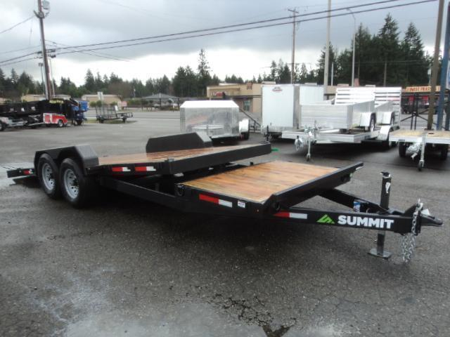 2021 Summit Cascade 7X20 14K Stationary Tiltbed Trailer
