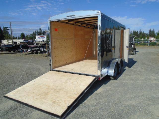 2021 Cargo Mate Blazer 7x14 7K With App Pkg / Ramp Door