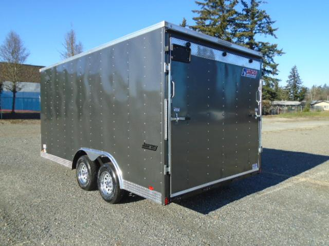 """2022 Pace American Journey Auto 8.5X16 With 6"""" Extra Height / Ramp Door"""