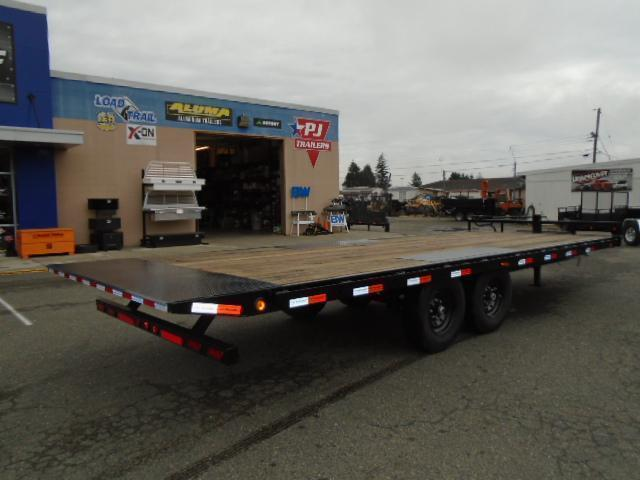 2021 PJ Trailers 8.5x22 14K Deckover Tilt