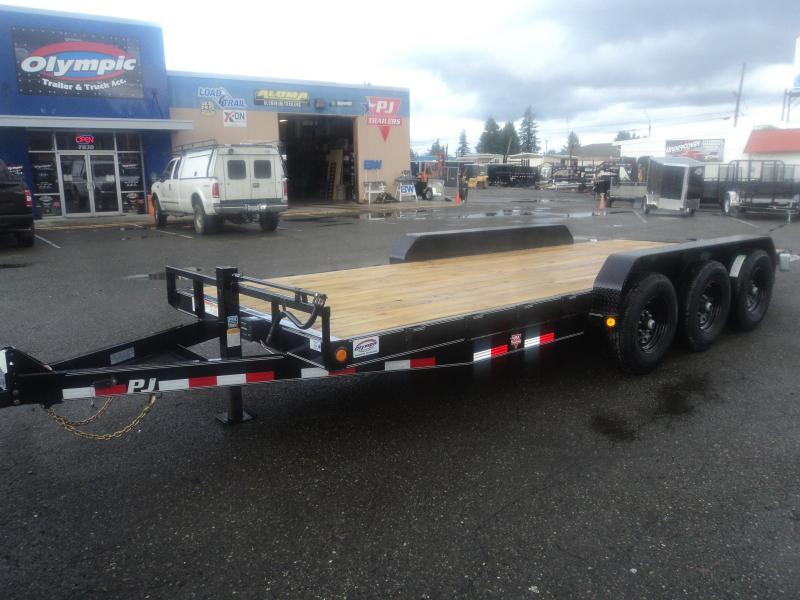 "2021 PJ 7x20 21K 6"" Channel Equipment Trailer"