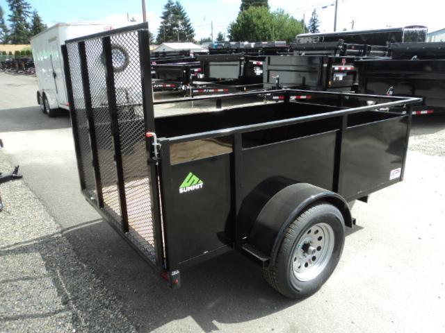 2021 Summit Alpine 4x8 Utility Trailer