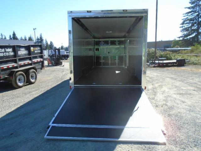 """2021 Cargo Mate 8.5X24 10K Race Trailer with Finished Interior/12""""+ Extra Height"""