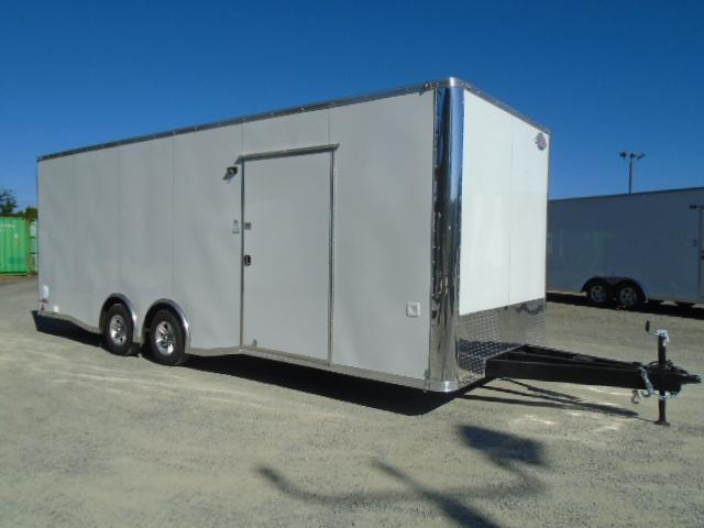 """2021 Cargo Mate E-Series 8.5x24 10K With 12"""" Extra Height / Finished Interior / Ramp Door"""
