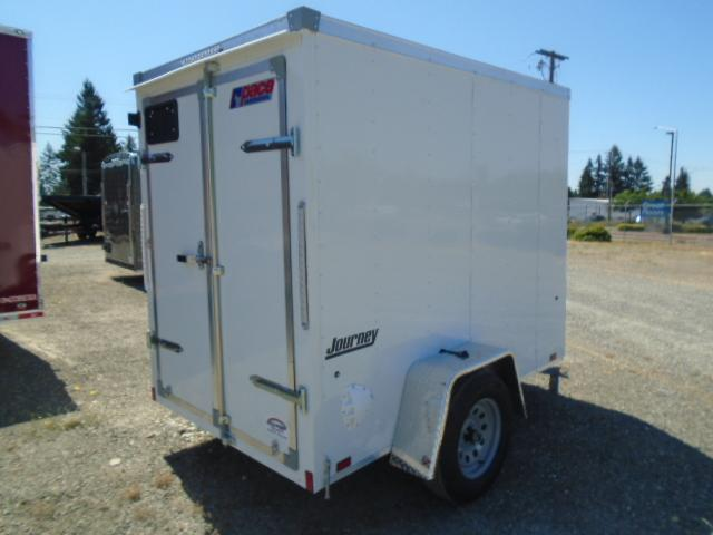 """2022 Pace American Journey 5x8 With 6"""" Extra Height / Cargo Doors"""