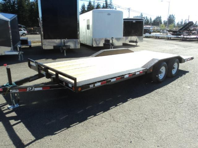 2021 PJ  8.5X18 10K Channel Buggy Hauler Trailer