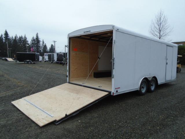 2021 Cargo Mate Blazer 8.5x20 7K With Escape Door / D-Rings / Ramp Door