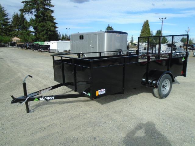 2021 Summit Alpine 6.5x12 Single Axle Utility Trailer