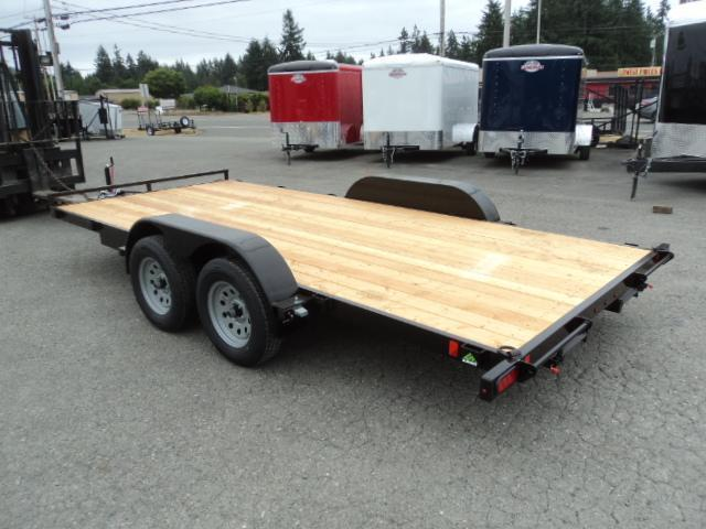 2021 Summit Alpine 7x14 7K Flatbed Car Hauler